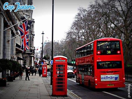voyage linguistique à Londres avec les city bus
